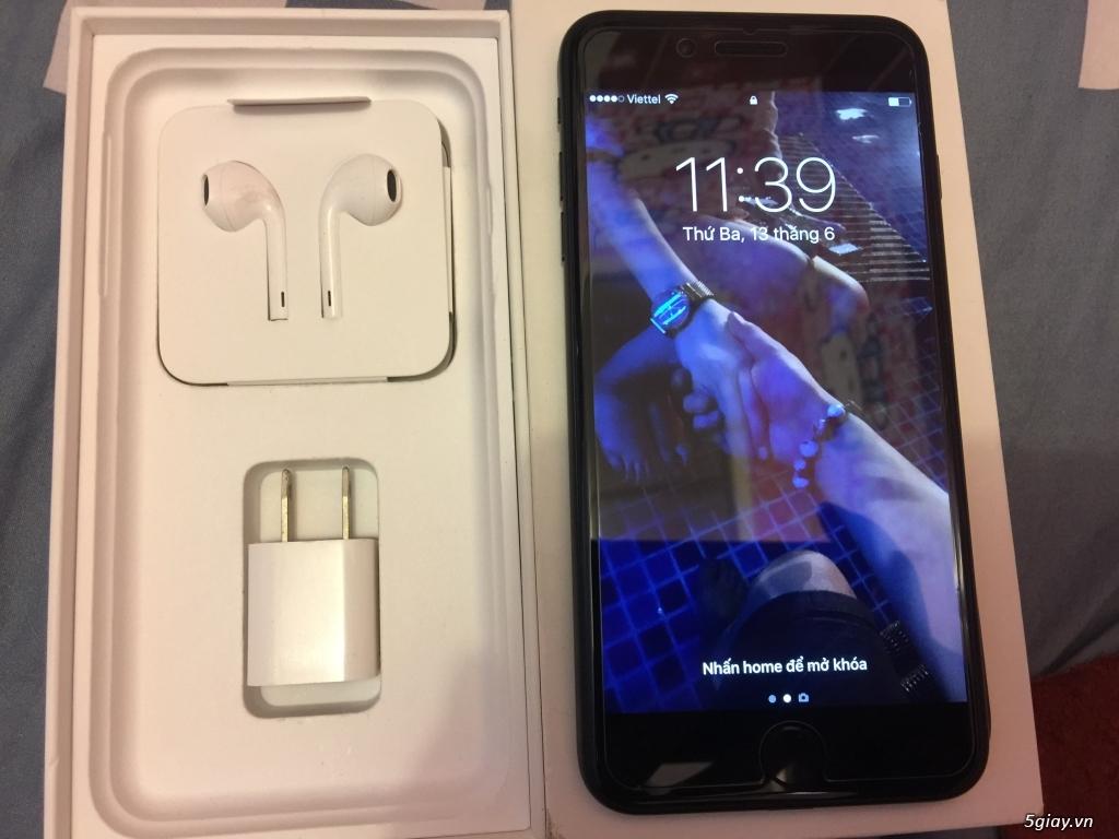 Iphone 7 plus 128 GB full Black ( nhám ) - 3