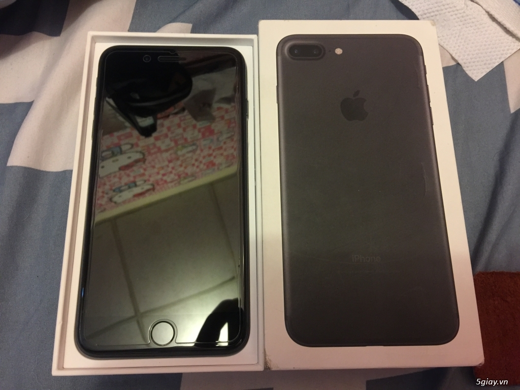 Iphone 7 plus 128 GB full Black ( nhám ) - 4