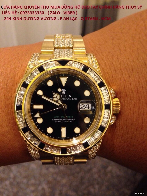 Địa chỉ thu mua bán đồng hồ Rolex chính hãng thụy sỹ cũ qua sử dụng