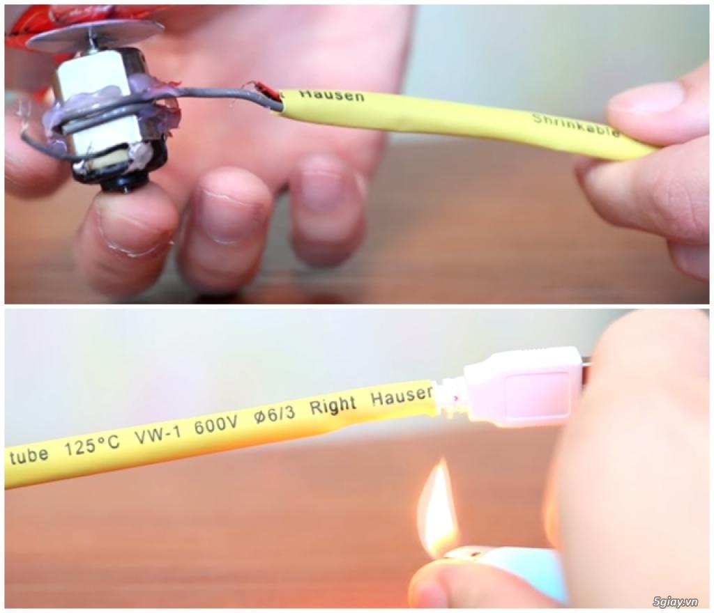 Tự chế quạt mini dùng cổng USB cực kì đơn giản - 197756