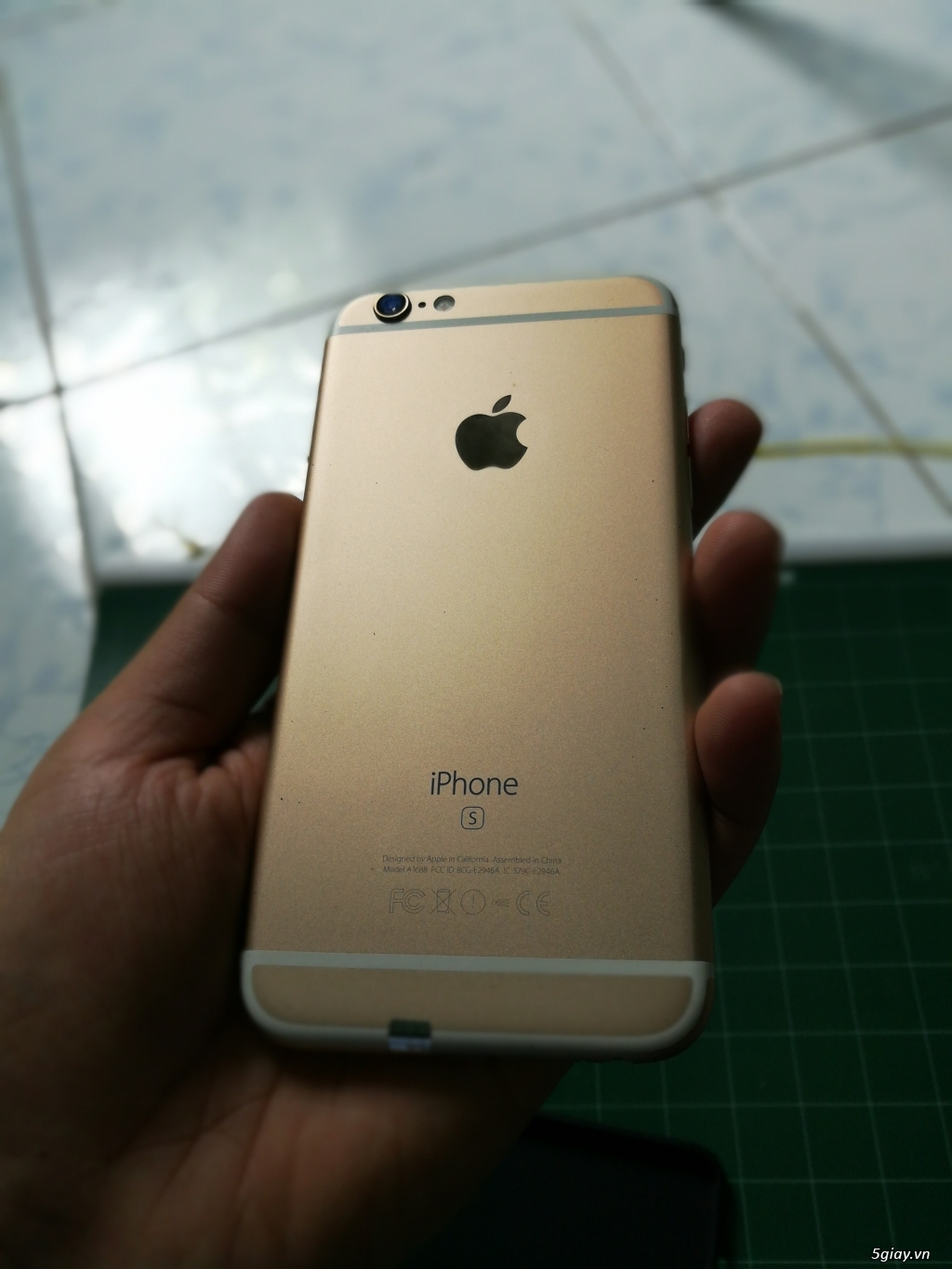 IPHONE 6S LOCK GOLD 64GB LIKENEW - 3