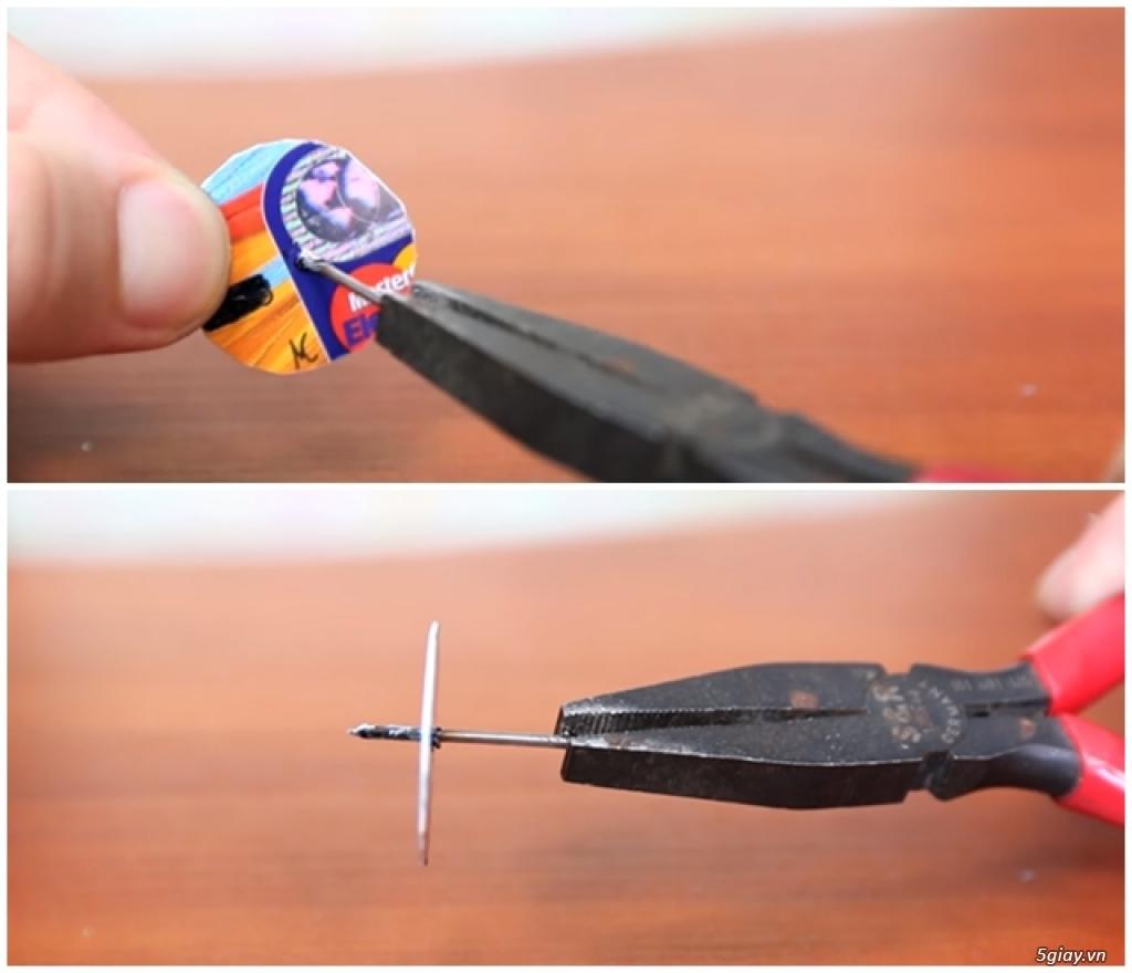 Tự chế quạt mini dùng cổng USB cực kì đơn giản - 197750