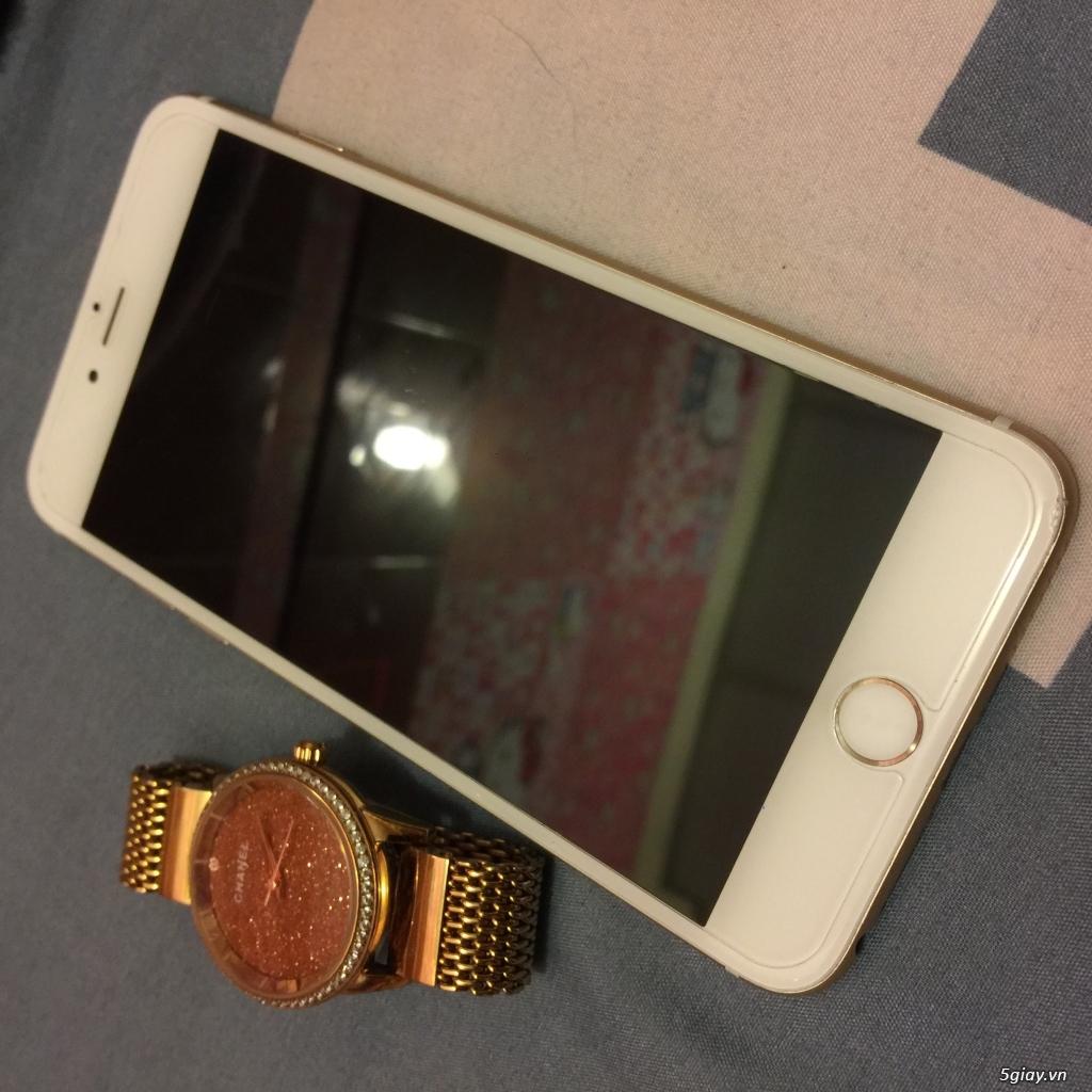 (Ip7+128GB black Full Box bảo hành) 2 cây 6+ gray và gold - 6
