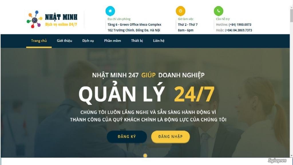 Phần mềm quản lí nhà hàng online - thiết bị bán hàng  S247.VN