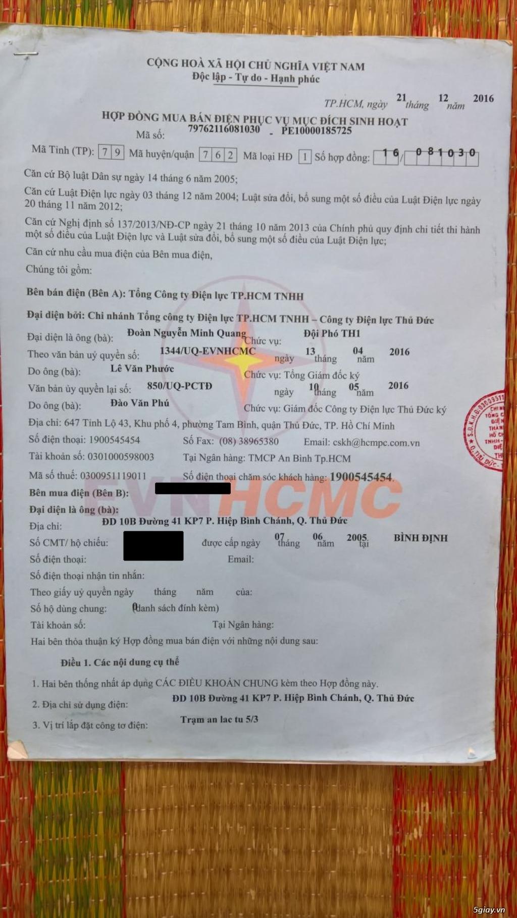 Bán đất hoặc cho thuê làm kho xưởng - 100m2 HXH đường 41 - Tam Bình