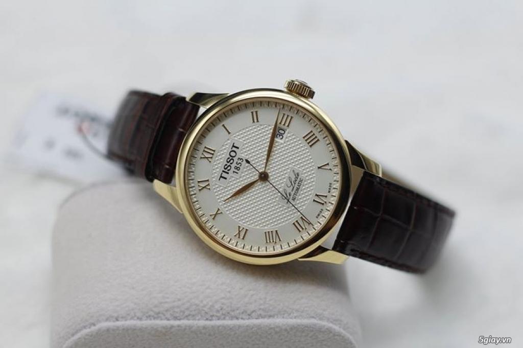 Vài mẫu đồng hồ chính hãng Frederique Constant, Raymond Weil, Tissot.. - 7