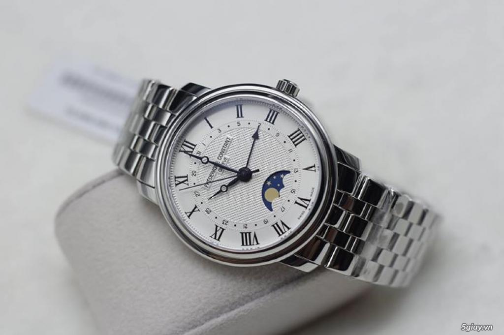 Vài mẫu đồng hồ chính hãng Frederique Constant, Raymond Weil, Tissot..