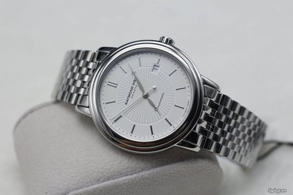 Vài mẫu đồng hồ chính hãng Frederique Constant, Raymond Weil, Tissot.. - 4