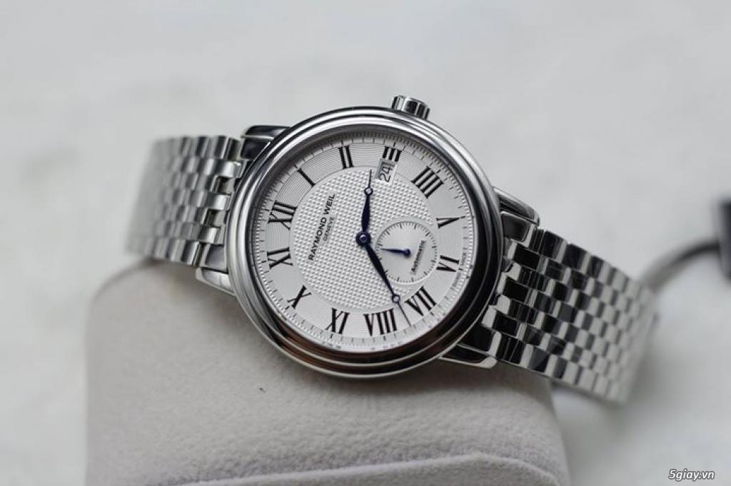 Vài mẫu đồng hồ chính hãng Frederique Constant, Raymond Weil, Tissot.. - 1