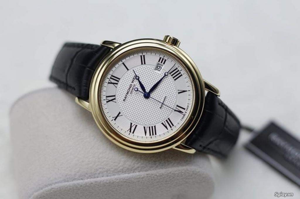 Vài mẫu đồng hồ chính hãng Frederique Constant, Raymond Weil, Tissot.. - 3