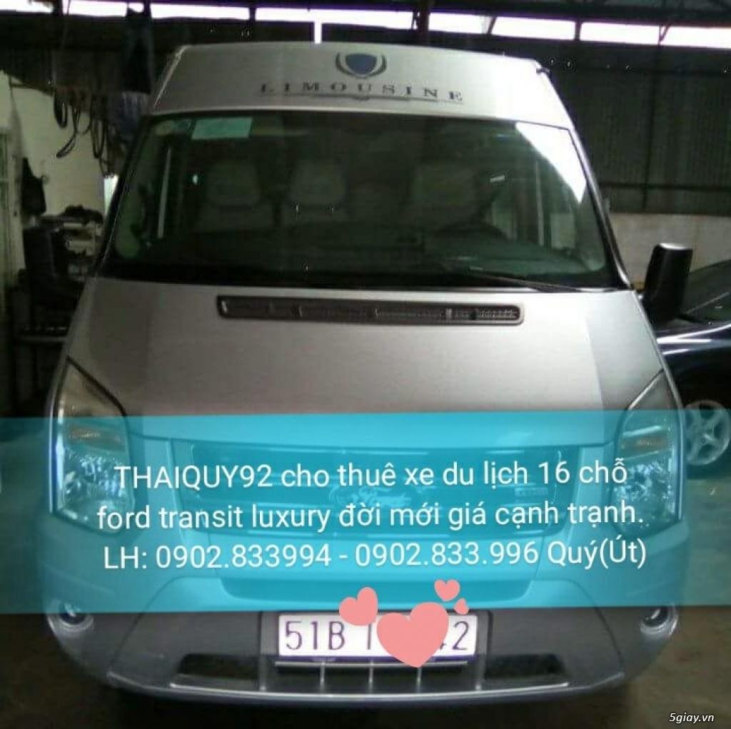 THAIQUY92 cho thuê xe du lịch 16 chỗ Ford Transit Luxury đời mới - 2