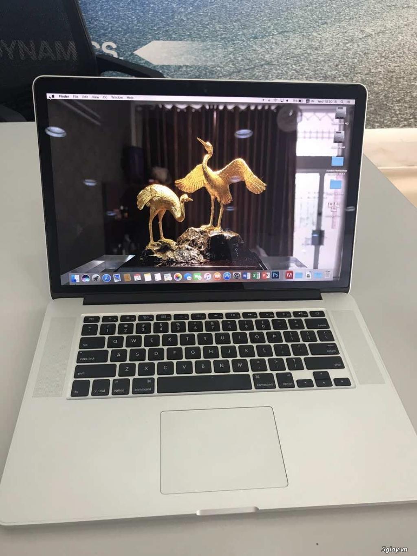 Bán Macbook Pro Retina 15.4 Core i7 2.3Ghz- 16GB -SSD 512GB - Card rời - 9
