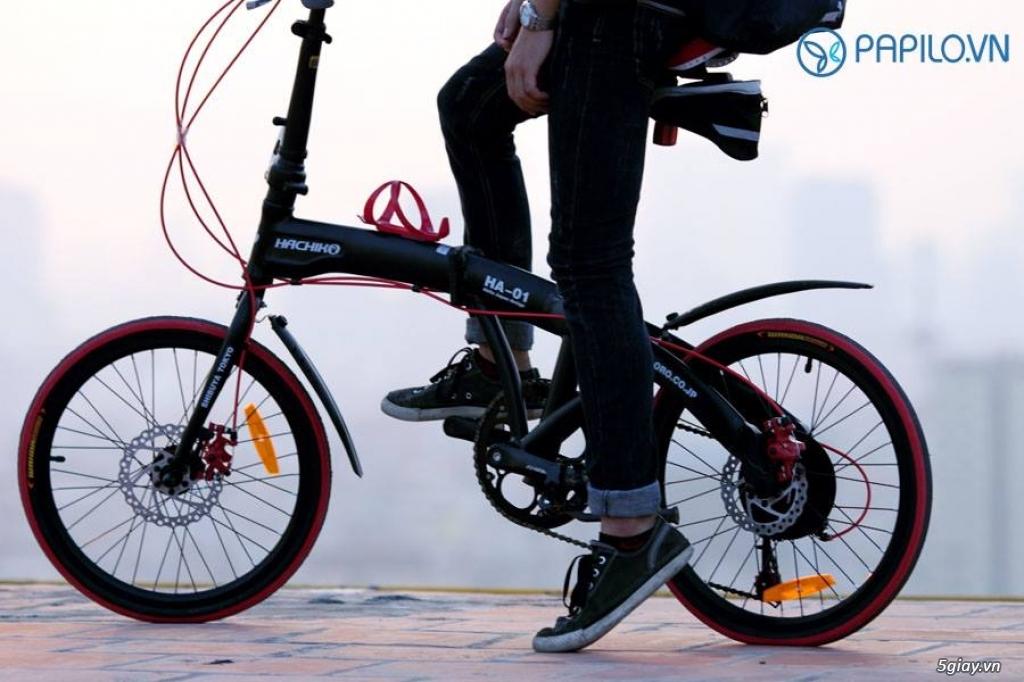 Xe đạp gấp/ xếp/ gọn/ nhẹ - 2