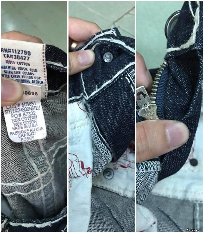Quần jean si đa ( 2hand ) của các hãng Ông địa , D&G , A/X...  nhập từ USA , Italy ... - 7
