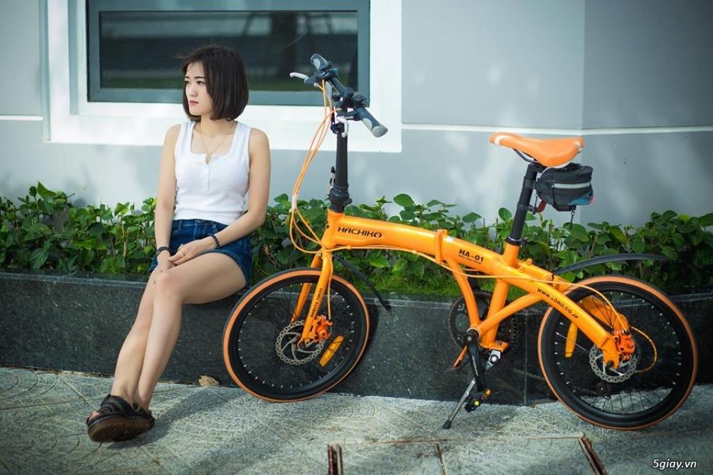 Xe đạp gấp/ xếp/ gọn/ nhẹ - 1