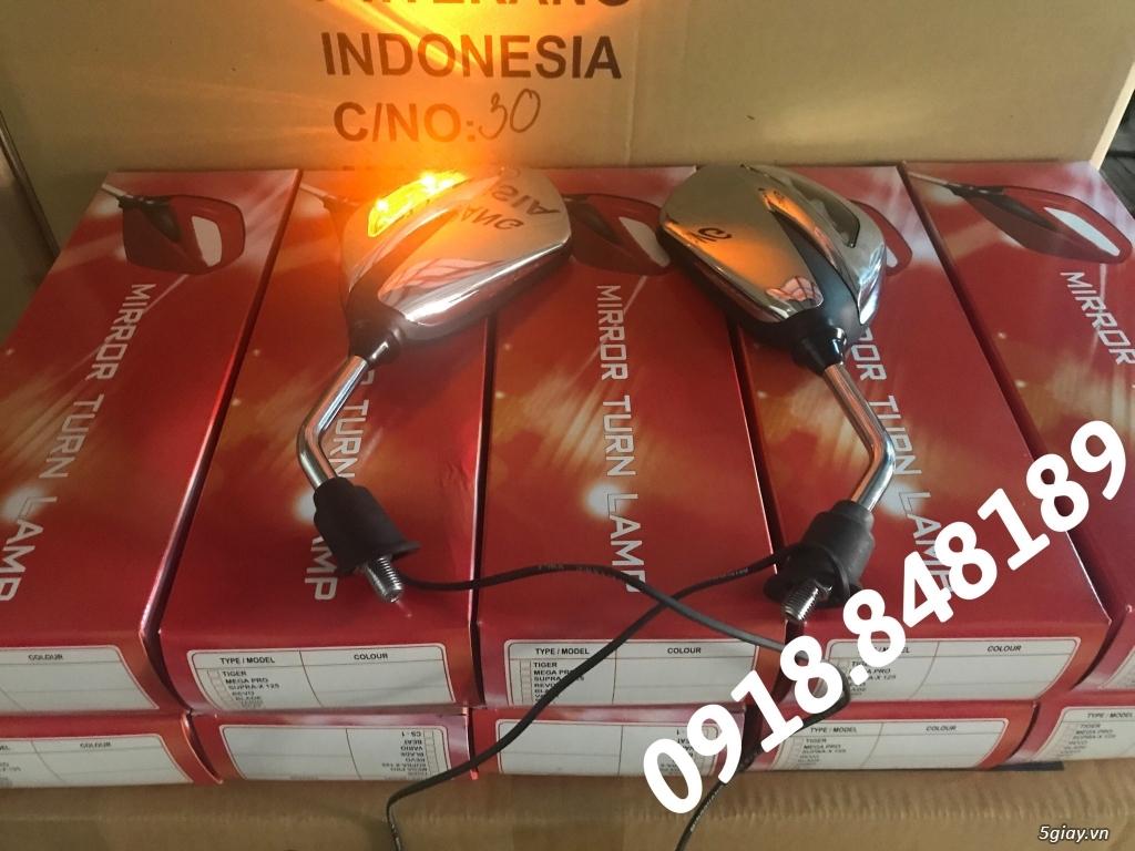 Kính chiếu hậu Honda Indonesia có đèn led xi nhan cực đẹp