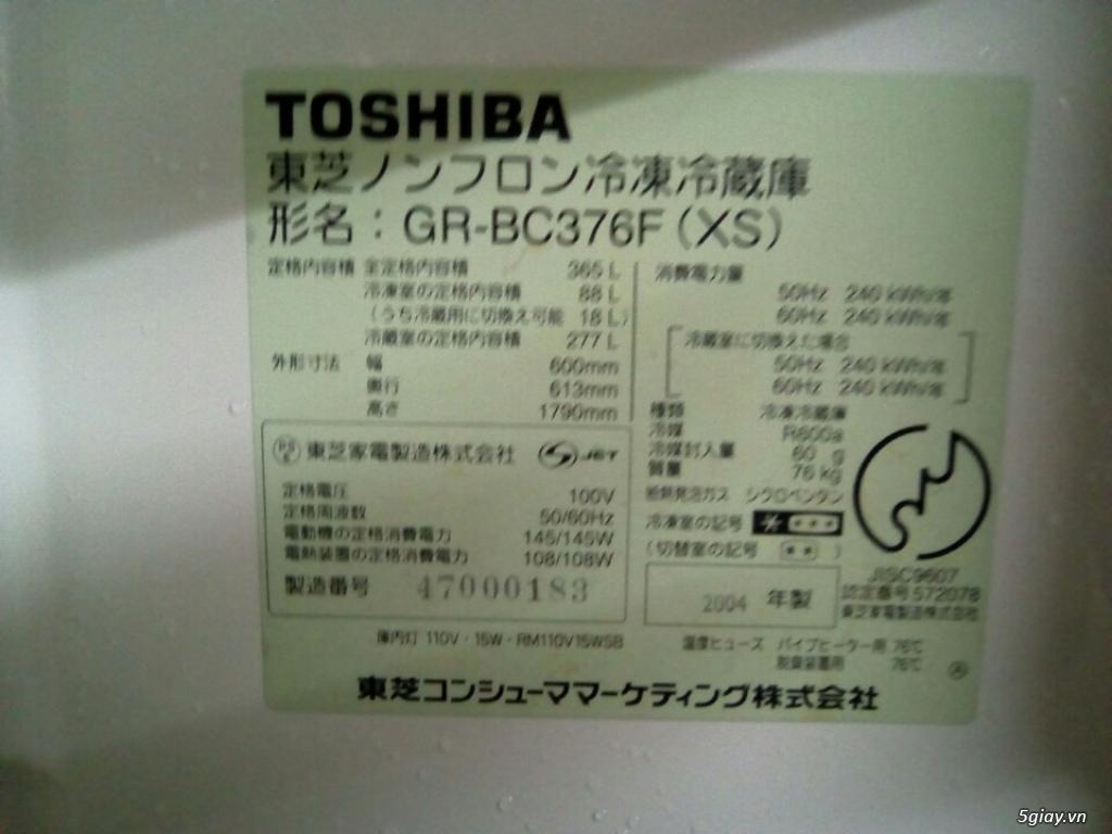 Tủ lạnh nội địa Nhật Toshiba 6 cánh - BH 1 năm - 3
