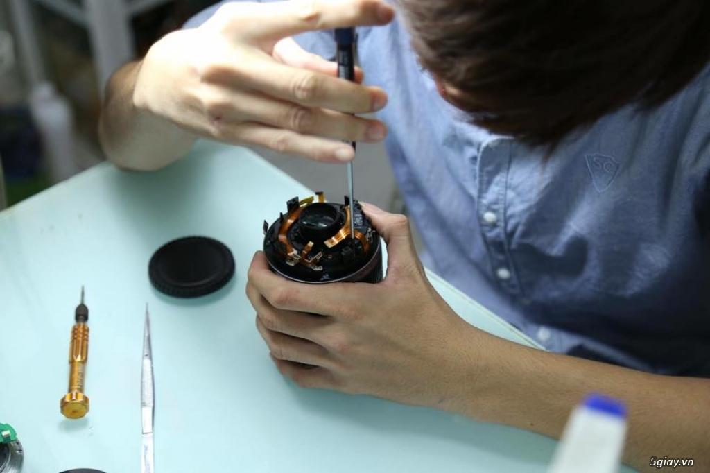 Chuyên sửa chữa máy ảnh ống kính chuyên nghiệp - 2