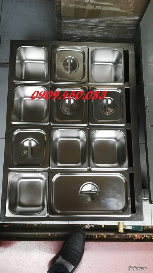 thiết bị giử nóng thức ăn - nước sốt - 11 khay - 1