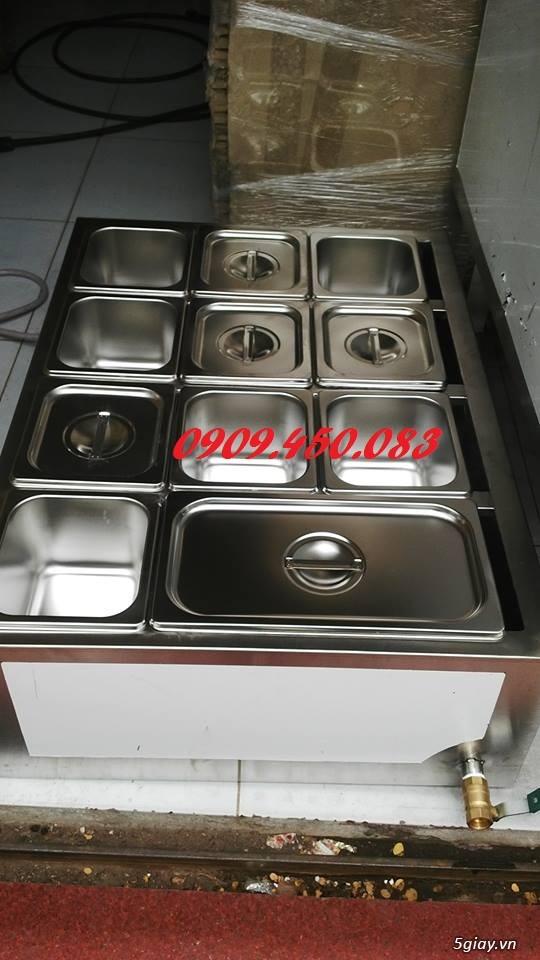 thiết bị giử nóng thức ăn - nước sốt - 11 khay