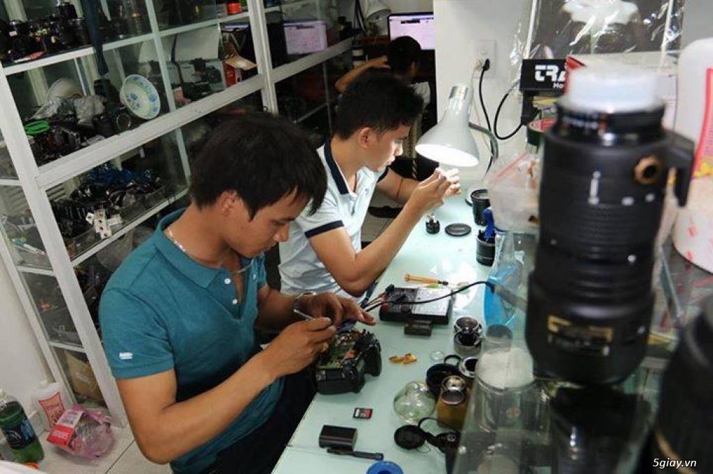 Chuyên sửa chữa máy ảnh ống kính chuyên nghiệp