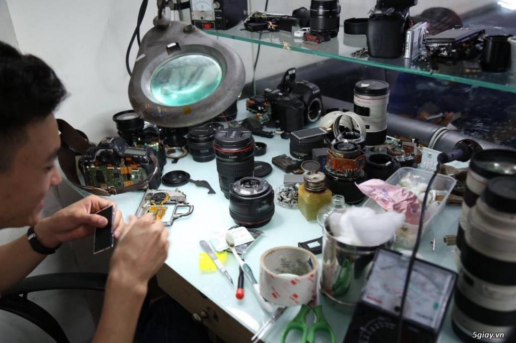 Chuyên sửa chữa máy ảnh ống kính chuyên nghiệp - 3
