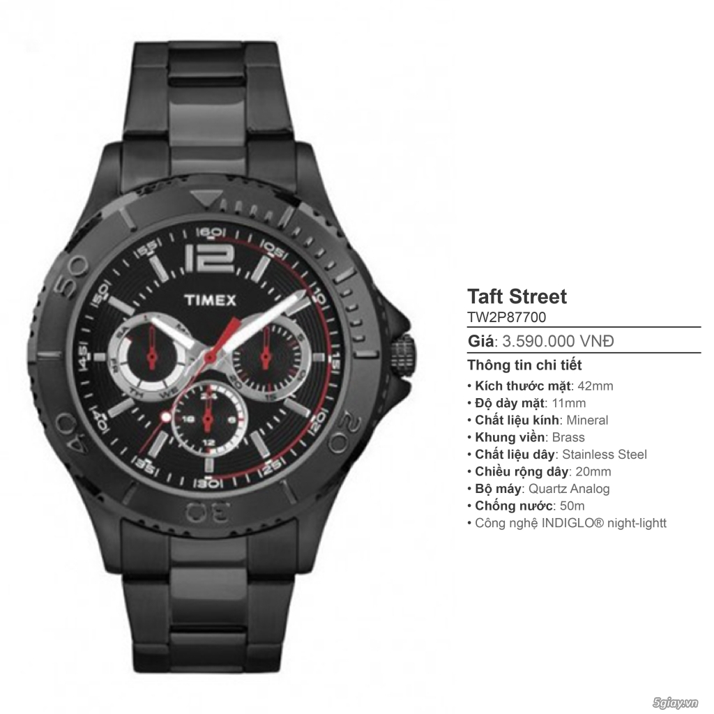 Chuyên Đồng hồ Timex dành cho các bạn Nam - 37