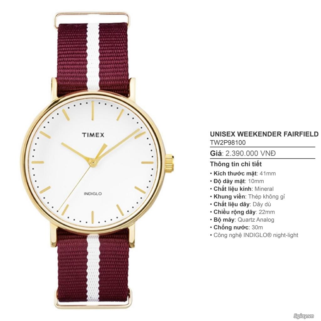 Chuyên Đồng hồ Timex dành cho các bạn Nam - 9