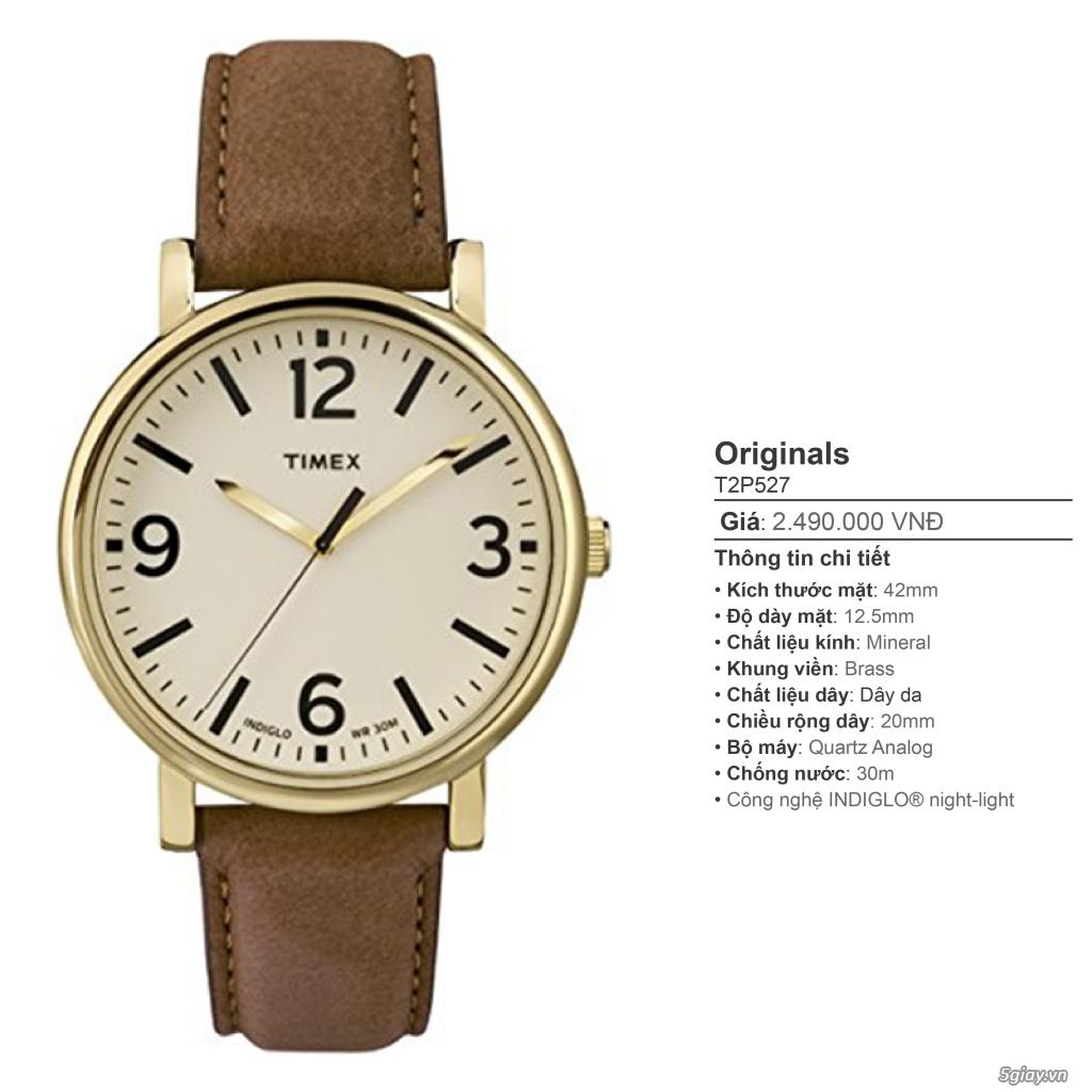 Chuyên Đồng hồ Timex dành cho các bạn Nam - 26
