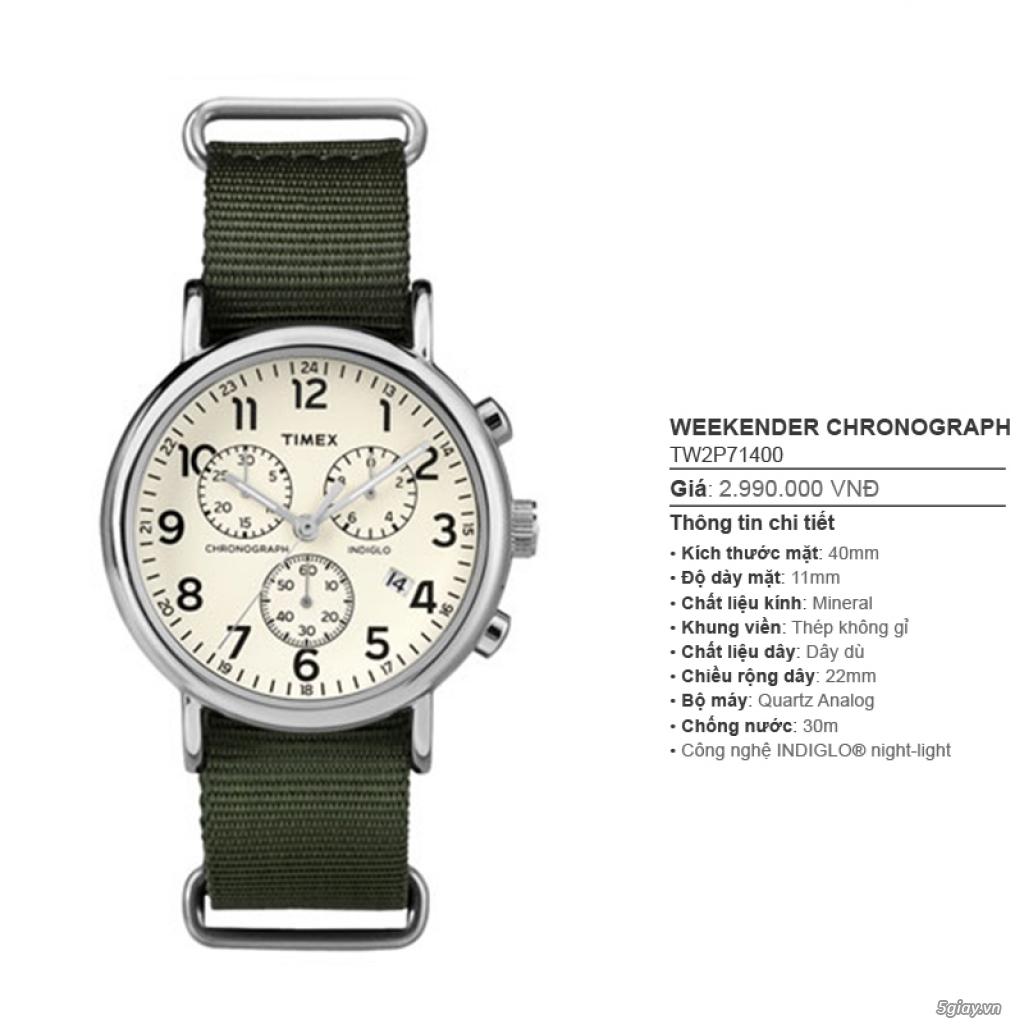 Chuyên Đồng hồ Timex dành cho các bạn Nam