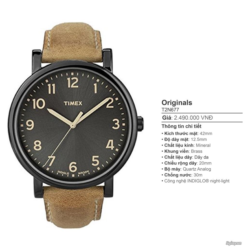 Chuyên Đồng hồ Timex dành cho các bạn Nam - 23