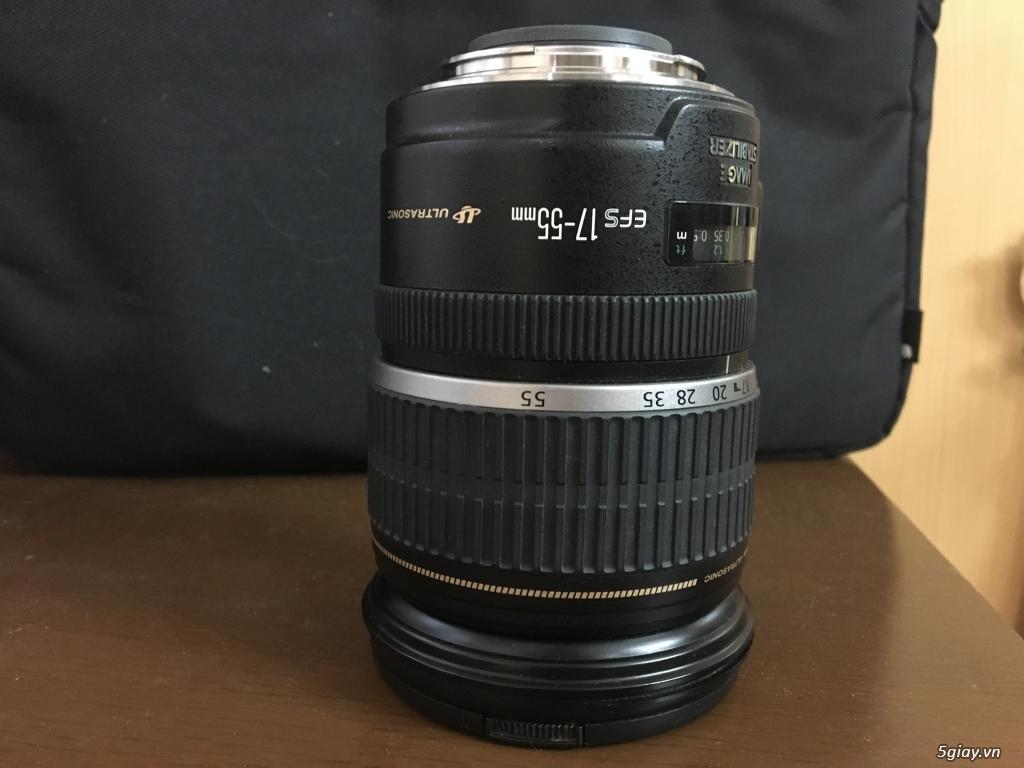 Cần bán lens Canon EFS 17-55 f/2.8 IS USM như mới ít xài