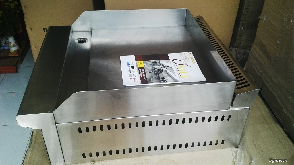 bếp chiên mặt phẳng gas - GG2B - 2