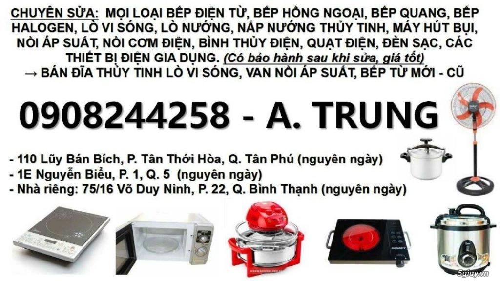 Chuyên sửa lò vi sóng, sửa bếp điện từ, sửa bếp hồng ngoại, sửa nồi áp suất, 0908244258, .... - 8