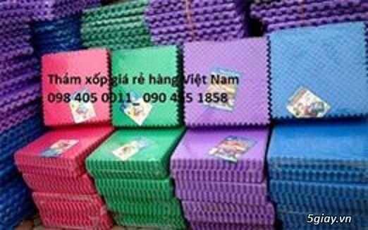 Thảm xốp tập võ, thảm xốp trường mầm non giá rẻ Hà Nội 0984050011