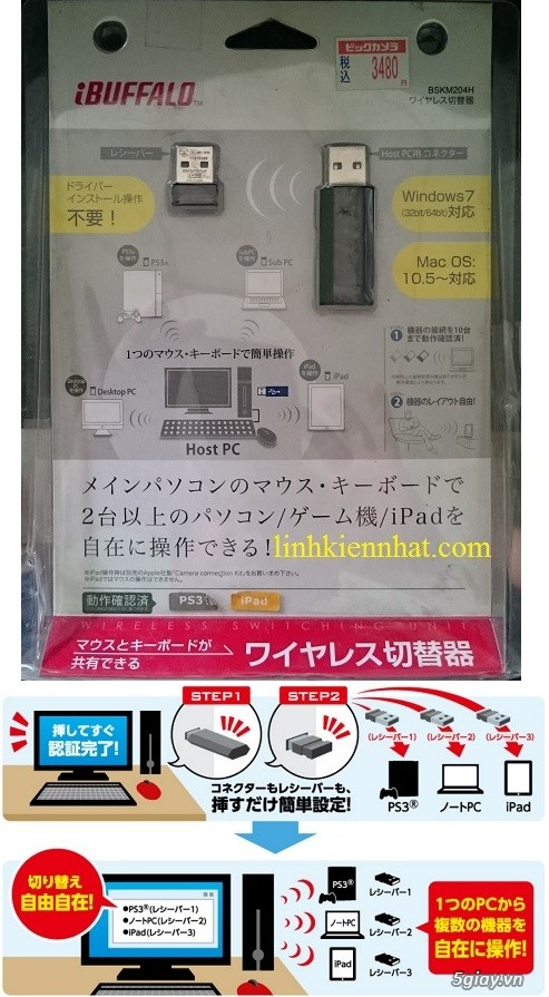 Buffalo Wifi: Modem, Router, Access Point, Repeater, Mouse, Box HDD, đầu phát HD - 20