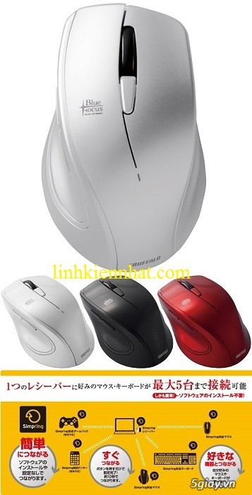 Buffalo Wifi: Modem, Router, Access Point, Repeater, Mouse, Box HDD, đầu phát HD - 9