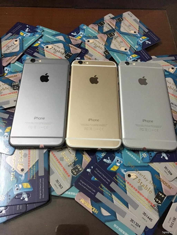 iPhone 6 lock Mỹ LL/A bản 16G nguyên zin chưa sữa chữa - 2