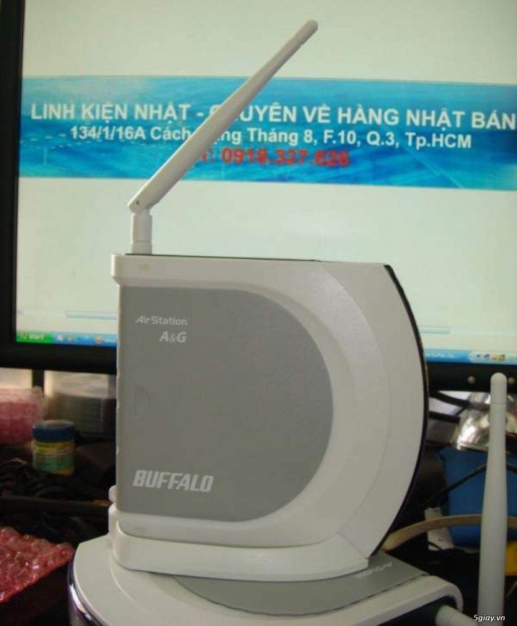 Buffalo Wifi: Modem, Router, Access Point, Repeater, Mouse, Box HDD, đầu phát HD - 7