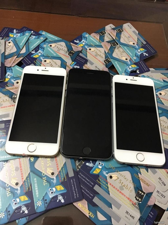 iPhone 6 lock Mỹ LL/A bản 16G nguyên zin chưa sữa chữa