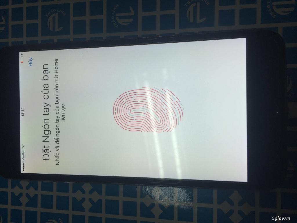 Iphone 6s plus 16gb QT mỹ màu đen xám - 1