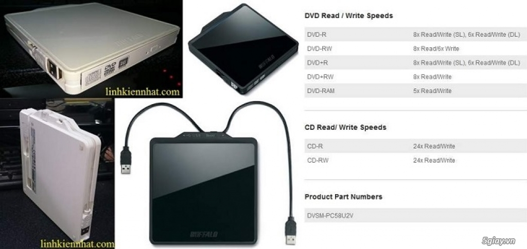 Buffalo Wifi: Modem, Router, Access Point, Repeater, Mouse, Box HDD, đầu phát HD - 26