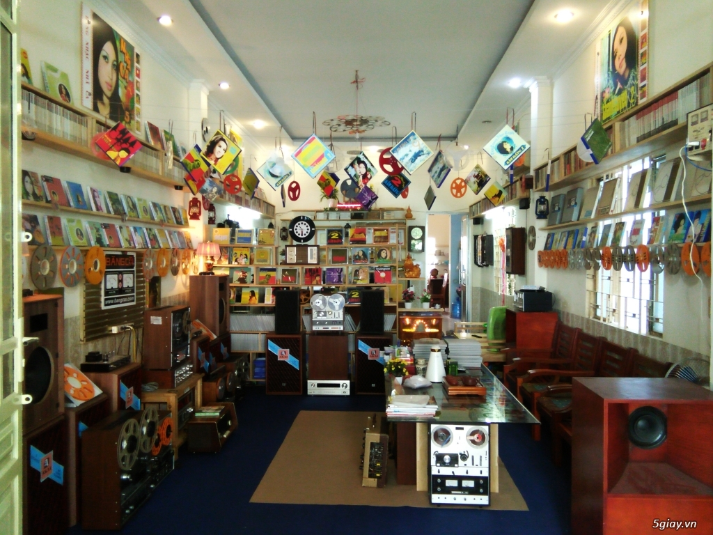 Băng Đĩa Cổ - Trung tâm lưu trữ Băng Cối - Nhạc trước năm 1975 - 1