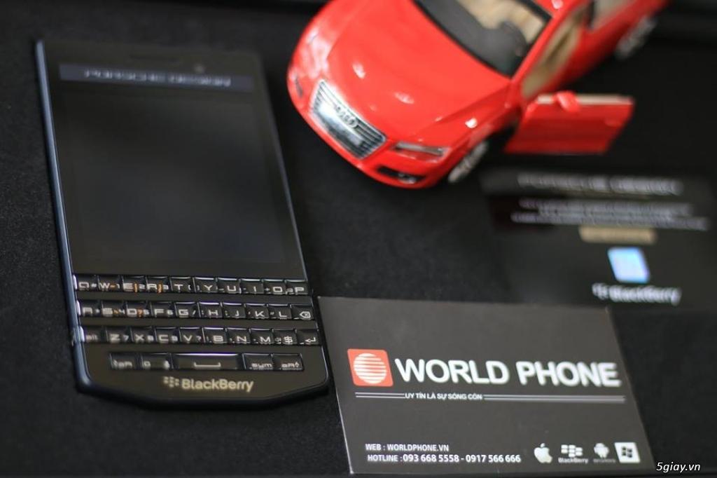 Worldphone-BlackBerry chuyên nghiệp, uy tín 11 năm, P'9983 chỉ 7490k