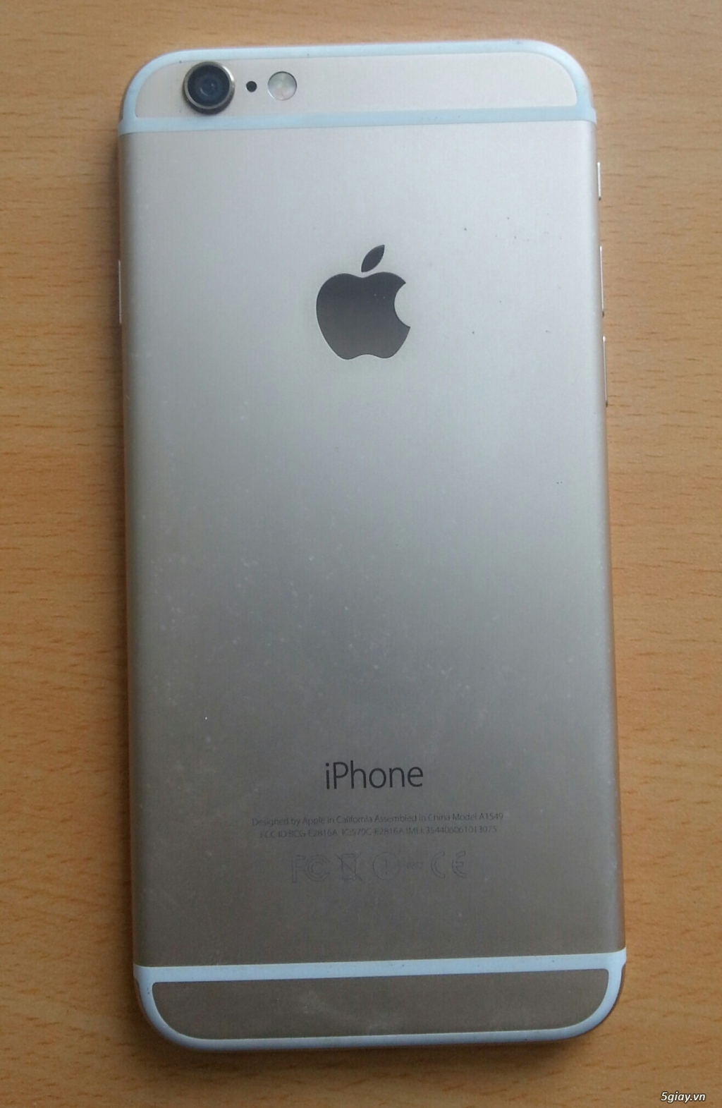 IPhone 6 Gold bản Quốc tế 16G cần bán