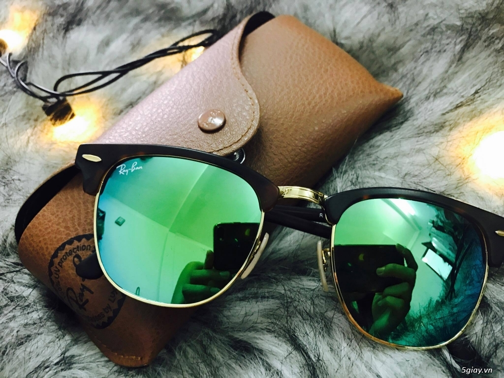 Kính Rayban RB-3016 Club Master Auth New Fullbox 100%