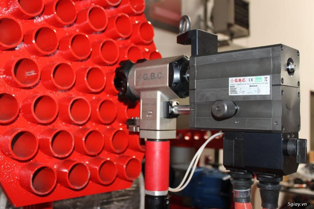 Máy vát mép ống GBC- Boiler K STD - 1