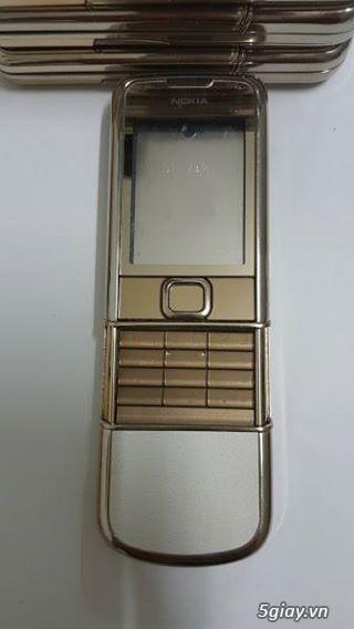 Chuyên bán vỏ nokia 8800 ( carbon, gold, sapphire, arte, v.v... ) & nokia 8600 luna zin.