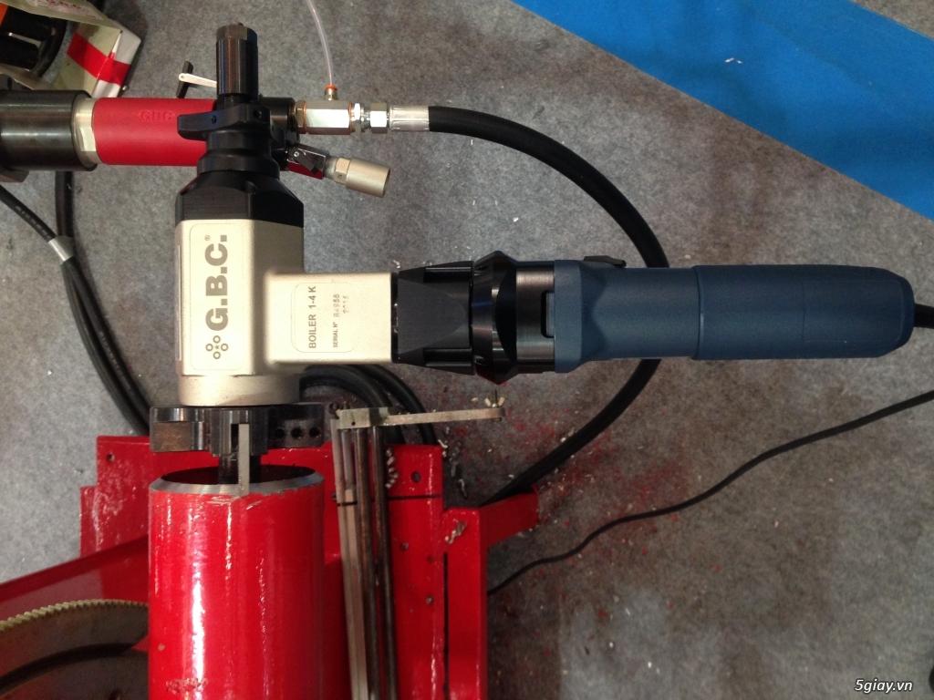 Máy vát mép ống GBC- Boiler K STD - 2