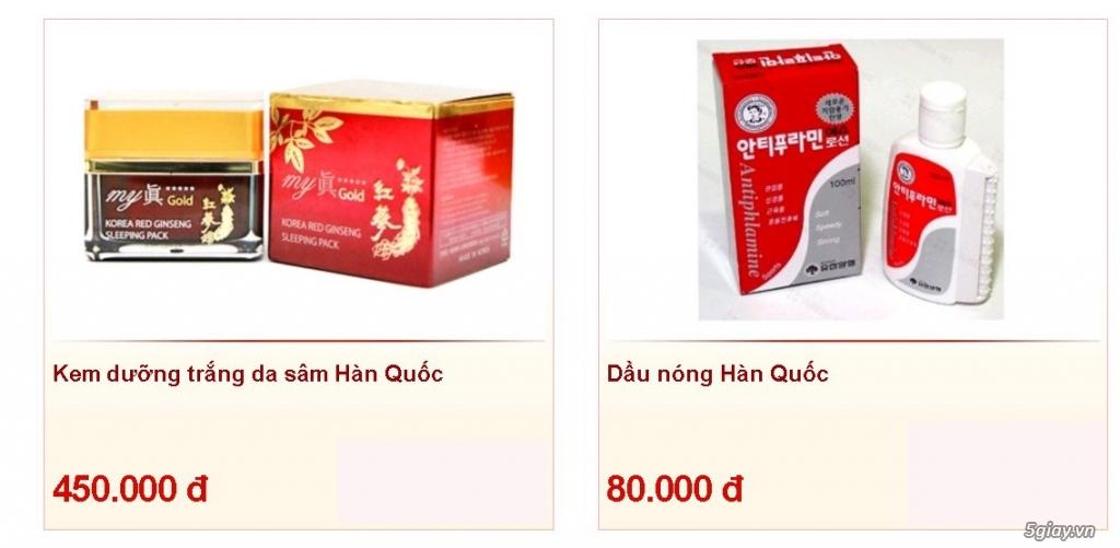 Tp.HCM - Đại lý cấp 1 giá gốc mỹ phẩm Hàn Quốc & Nhật Bản nhập khẩu - 24